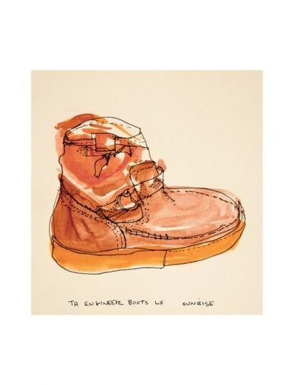 Иллюстрированный лукбук весенней коллекции марки Vans Vault. Изображение № 10.