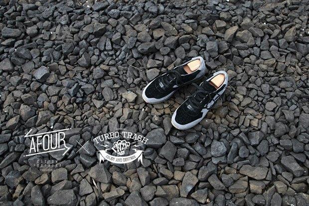 Марки Afour и TurboTrash выпустили совместную модель обуви. Изображение № 2.