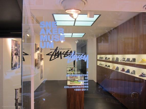 Выставка Stussy в музее кроссовок. Изображение № 1.
