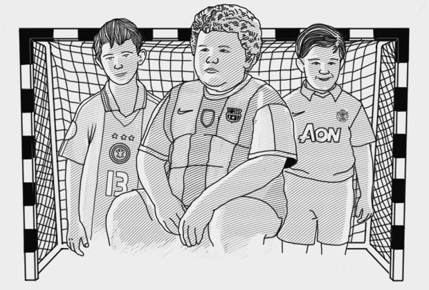 «На воротах – кто успеет»: Философия дворового футбола. Изображение № 1.
