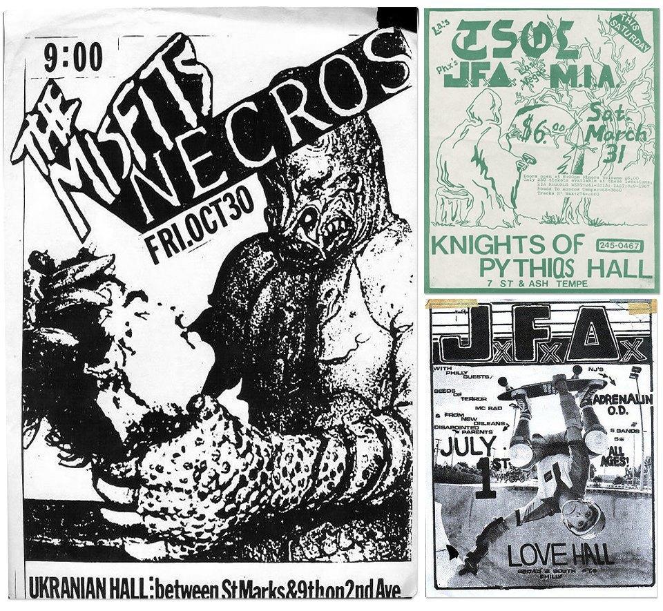 Афиши американских хардкор-концертов первой волны. Изображение № 5.