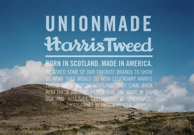 Американский магазин Unionmade представил коллекцию вещей из твида. Изображение № 8.