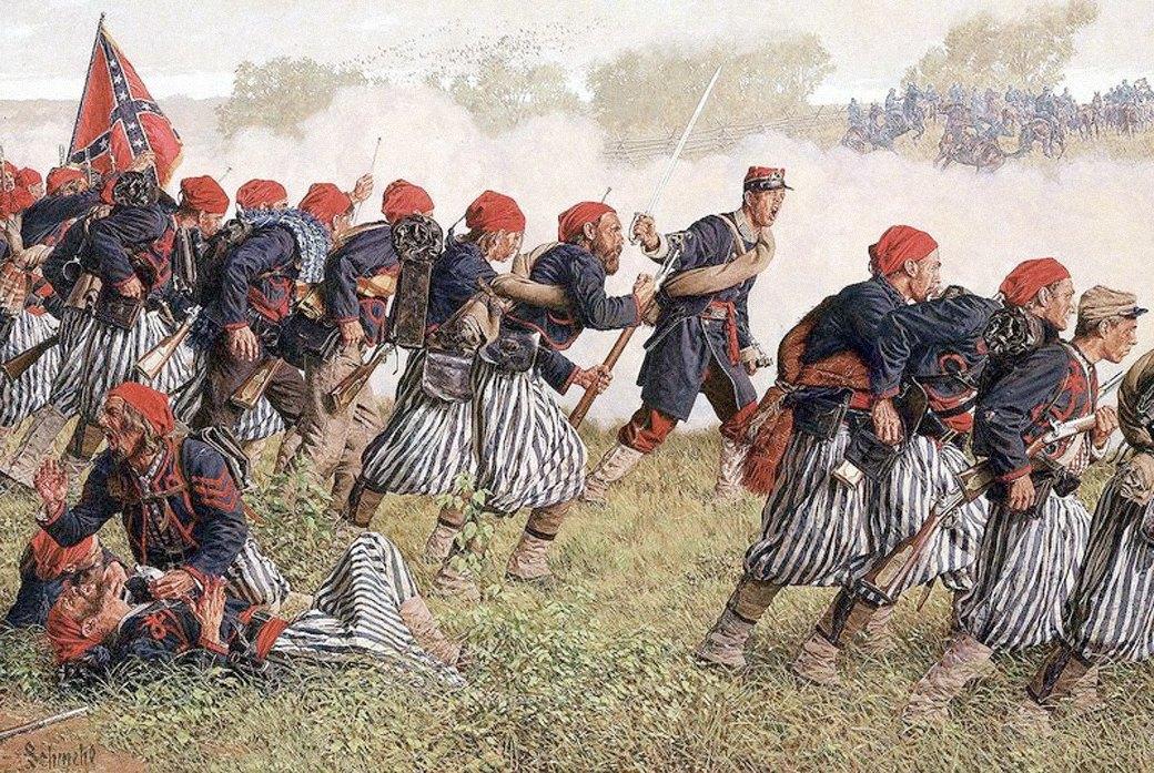 Зуавы: Как французские головорезы стали символом войн XIX века. Изображение № 11.