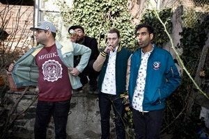 Хип-хоп коллектив Das Racist снялся в осеннем лукбуке марки Moss. Изображение № 10.