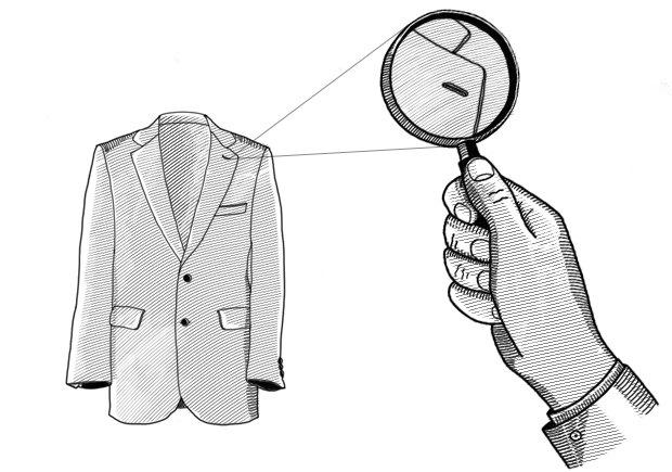 Внимание к деталям: Зачем нужна петля на левом лацкане пиджака . Изображение № 1.