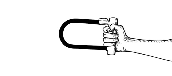 Короткое замыкание: Основные удары велосипедным замком. Изображение №16.