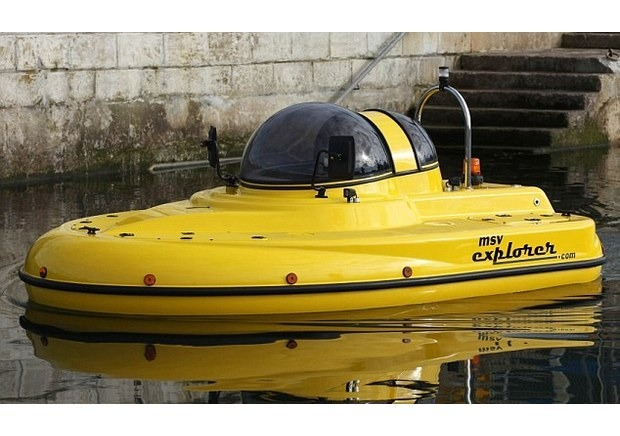 Англичанин разработал подводную лодку-амфибию с революционным гироскопическим генератором. Изображение № 5.