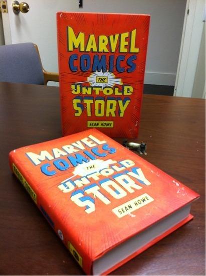 Вышла книга о создателях комиксов «Marvel». Изображение № 2.