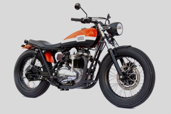 Мотоцикл Kawasaki W650 мастерской Deus Ex Machina. Изображение № 2.