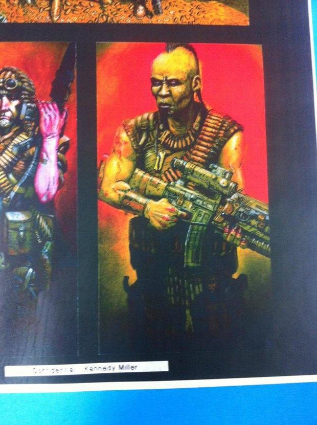Опубликованы первые концепт-арты фильма «Безумный Макс: Дорога ярости». Изображение № 2.