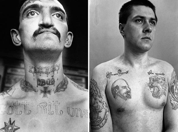Как советские тюремные наколки стали фетишем на Западе. Изображение №2.