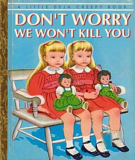 Иллюстратор Боб Стэйк создал пародии на обложки старых детских книжек   . Изображение № 19.