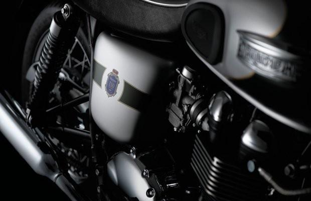 Марка Triumph выпустила мотоцикл к своему юбилею. Изображение № 2.