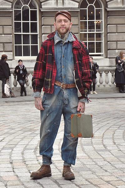 Уличный стиль на неделе моды в Лондоне. Изображение № 5.