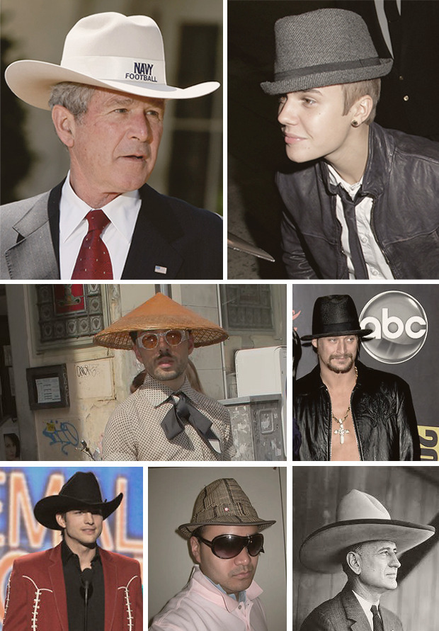 Как правильно носить шляпы?. Изображение № 4.