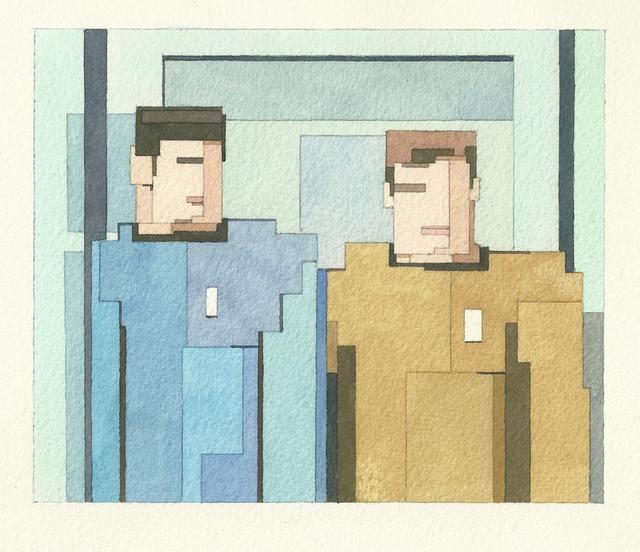 Адам Листер: Иконы поп-культуры в 8-битной живописи. Изображение № 5.