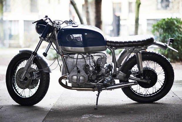 Лондонская мастерская Untitled Motorcycles представила новый кастом на базе BMW R100 RT. Изображение № 5.