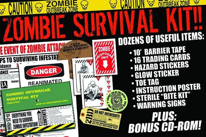 Завтра не наступит никогда: Дайджест наборов для выживания во время зомби-апокалипсиса. Изображение № 4.