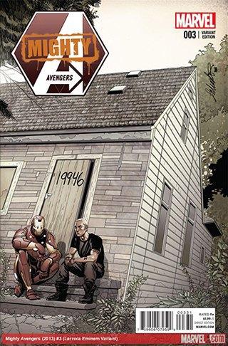 Marvel нарисовали Эминема для обложки своего комикса. Изображение № 1.