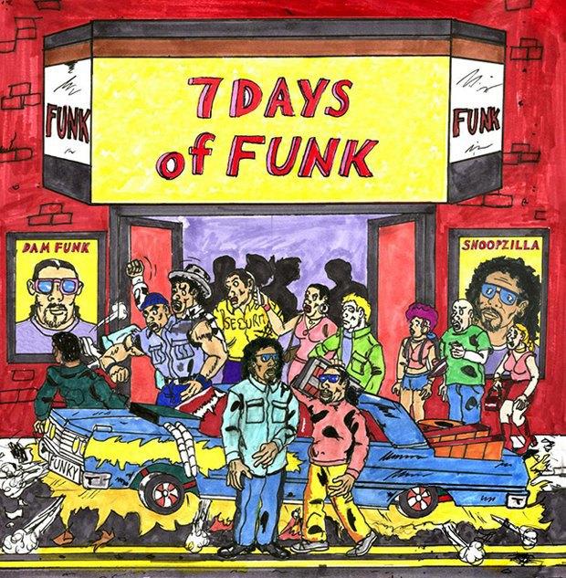 Рэперы Снупзилла и Dâm-Funk записали новый совместный альбом. Изображение № 1.