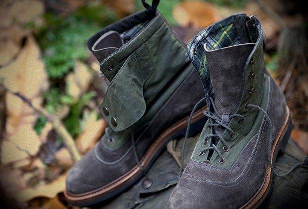 Марки Barbour и Forest of Gingko выпустили совместную модель обуви. Изображение № 1.