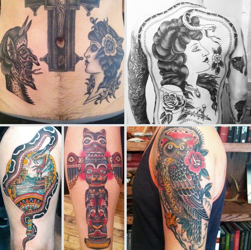 Что публикуют в своих Instagram известные татуировщики. Изображение № 11.