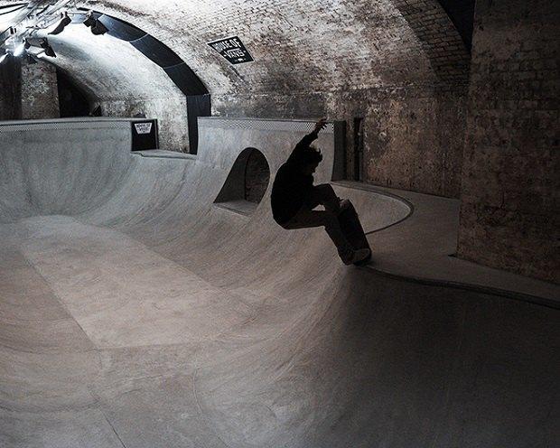 В Лондоне открылся большой скейт-парк The House of Vans. Изображение № 6.