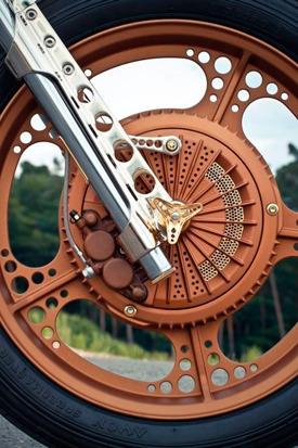 Мотоцикл немецкой мастерской Thunderbike победил в чемпионате мира по кастомайзингу. Изображение № 11.