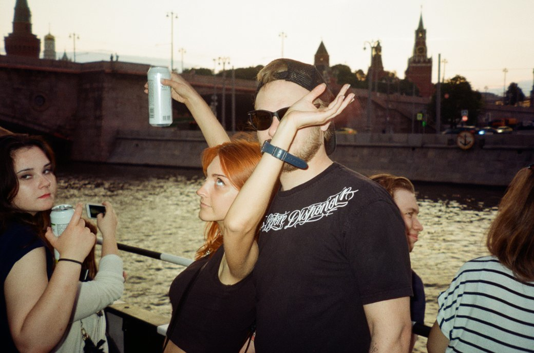 Фотоотчёт: «Панк-корабль» на Москве-реке. Изображение № 10.
