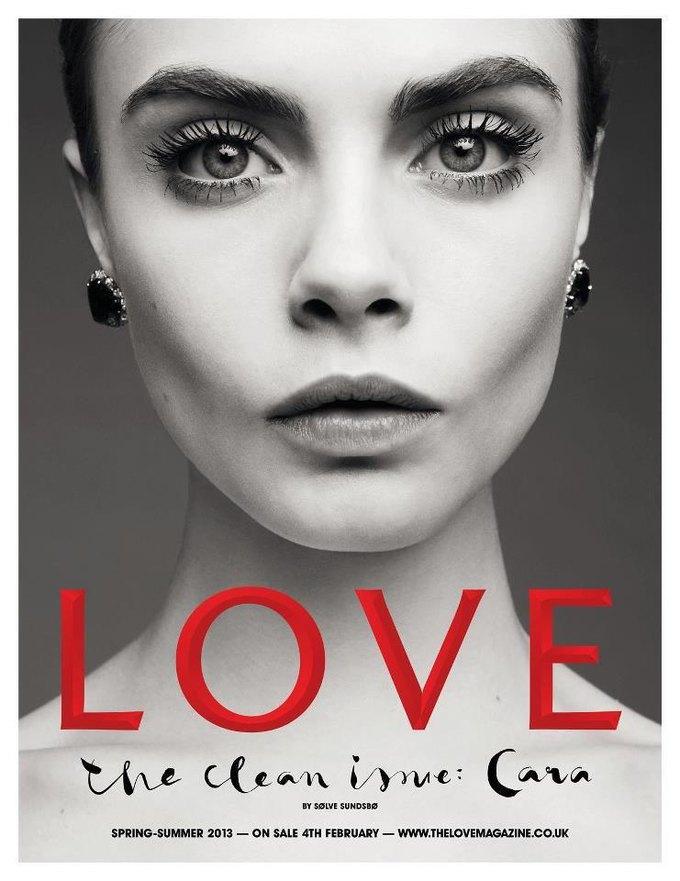 Фотограф Сольве Сундсбо снял 10 молодых моделей для журнала LOVE. Изображение № 12.