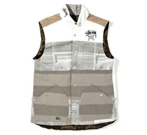 Марка Stussy и дизайнер Даррен Романелли представили совместную коллекцию одежды. Изображение № 7.