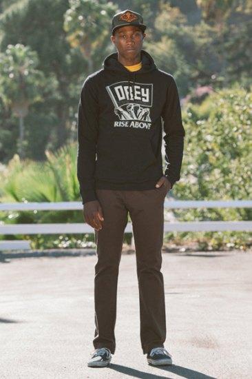 Марка Obey опубликовала лукбук весенней коллекции одежды. Изображение № 2.
