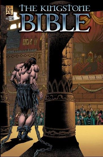 В США превратят Библию в «тестостероновые» комиксы. Изображение № 2.