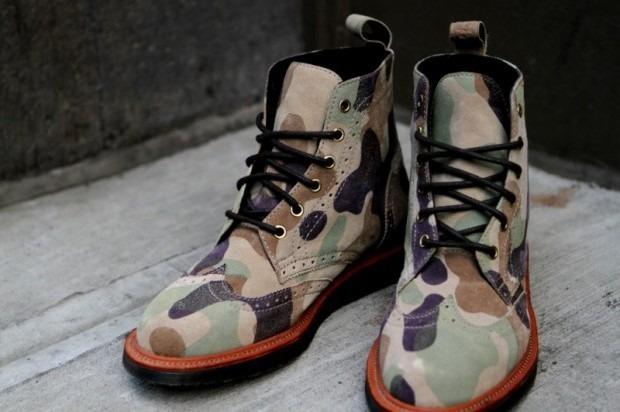 Дизайнер Ронни Фиг и марка Dr. Martens выпустили капсульную коллекцию обуви. Изображение № 1.