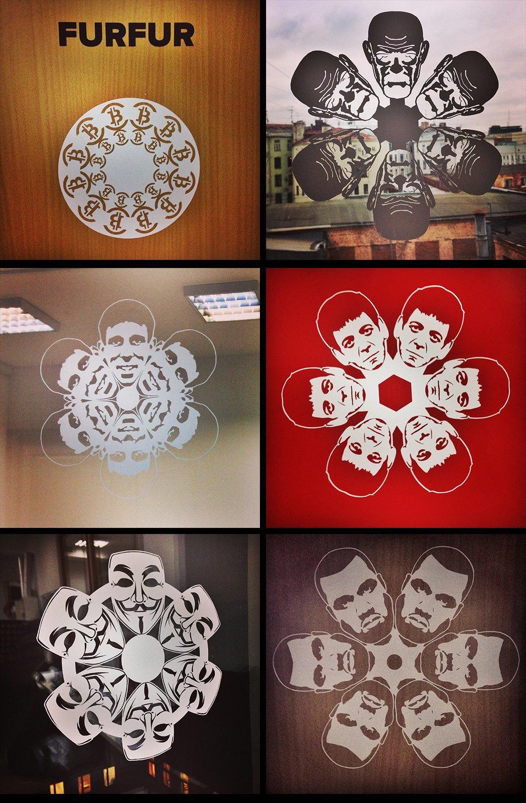 Снежный человек: «Герои года» в форме новогодних снежинок. Изображение № 12.