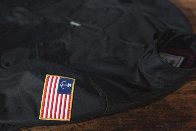 Марка Vanson представила куртку в коллаборации с Iron & Resin. Изображение № 5.