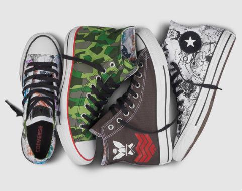 5 новых проектов американской марки Converse. Изображение № 1.