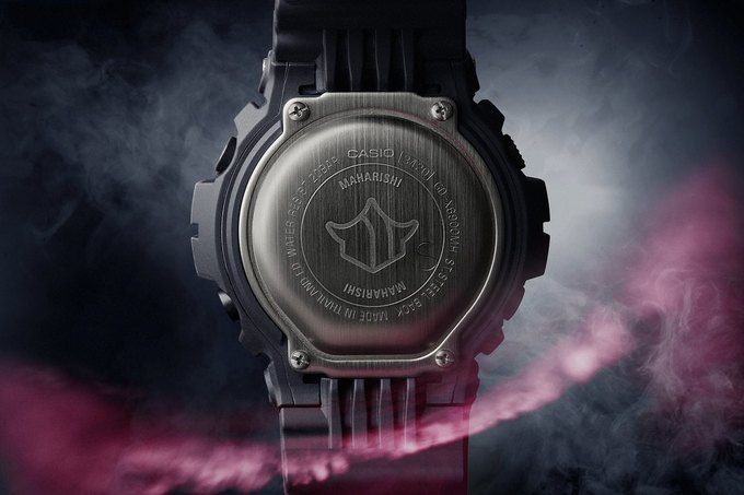 В магазине Brandshop состоится запуск продаж коллаборационной модели часов Casio G-Shock x Maharishi. Изображение № 7.