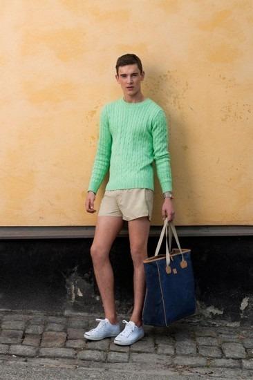 Марка Gant Rugger представила лукбук весенней коллекции одежды. Изображение № 18.