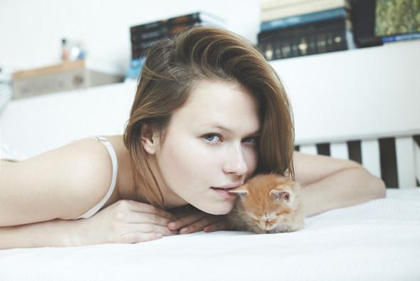 Хеллоу китти: 5 девушек и их котики. Изображение №15.