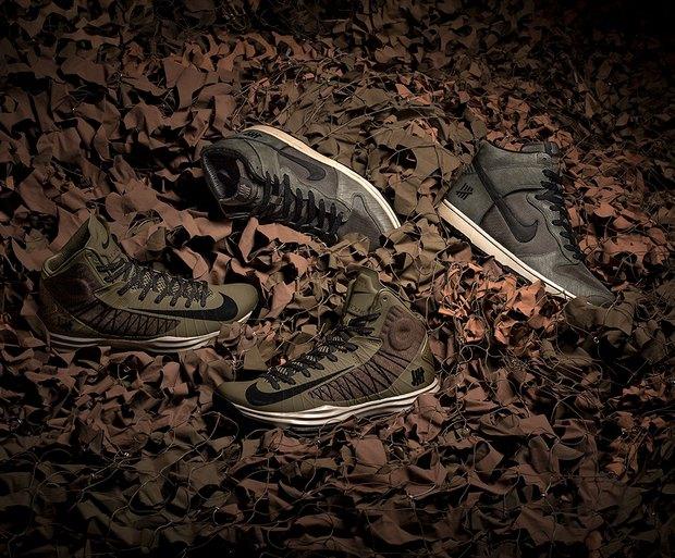 Марки Nike и Undefeated выпустили совместные модели кроссовок. Изображение № 1.