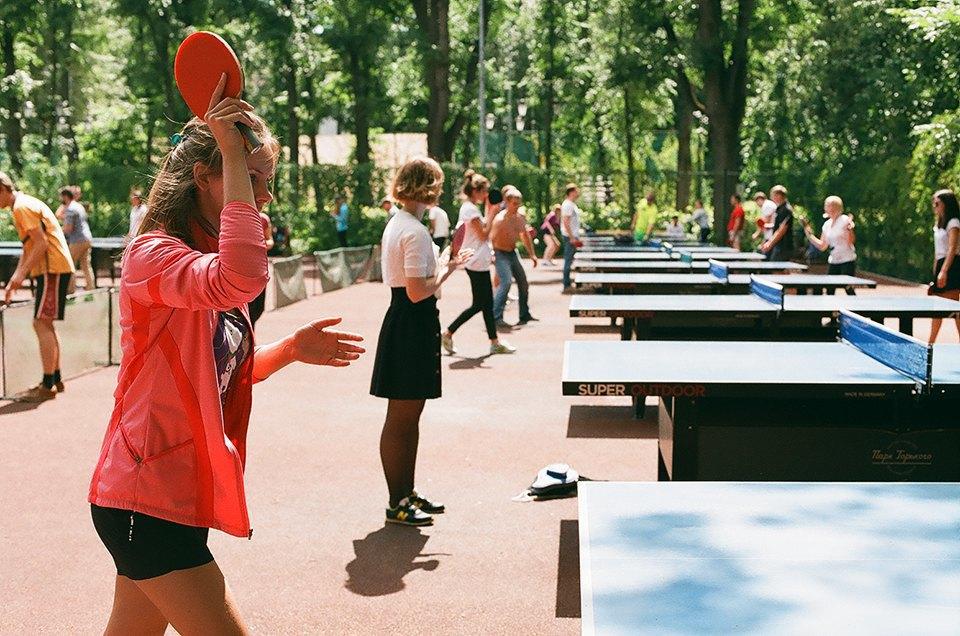Фоторепортаж: Женский турнир по пинг-понгу в Нескучном саду. Изображение № 14.