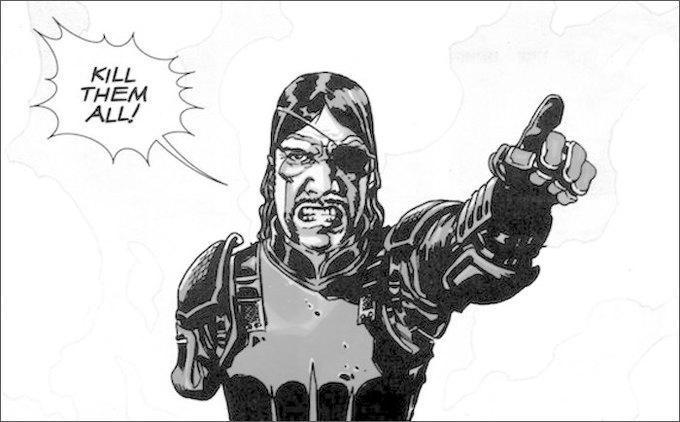 13 главных отличий сериала «Ходячие мертвецы» от комикса. Изображение № 1.