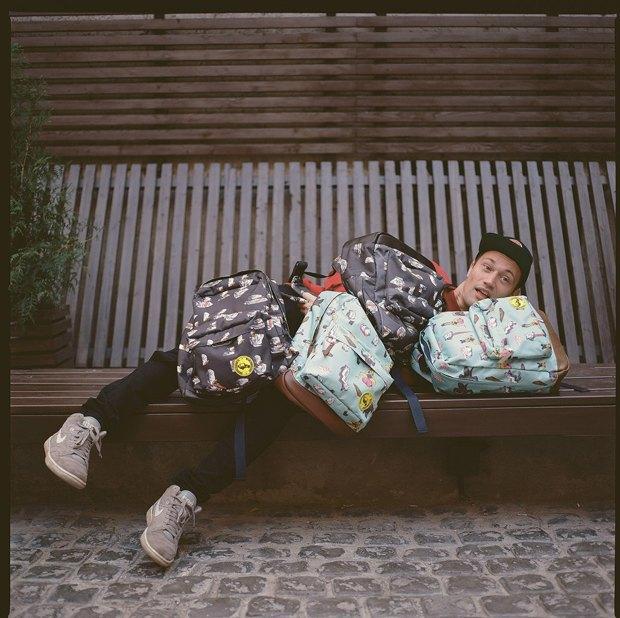 Дизайнер Никита Грузовик и художник Flakonkishochki анонсировали капсульную коллекцию рюкзаков. Изображение № 2.