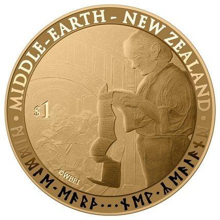 В Новой Зеландии появятся монеты и марки с изображением героев Толкина. Изображение № 4.