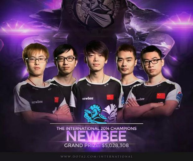 Dota 2 The International 2014 Team Liquid: Китайцы из NewBee получат за победу в турнире по «Доте» $5