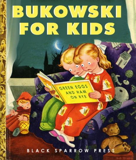 Иллюстратор Боб Стэйк создал пародии на обложки старых детских книжек   . Изображение № 21.