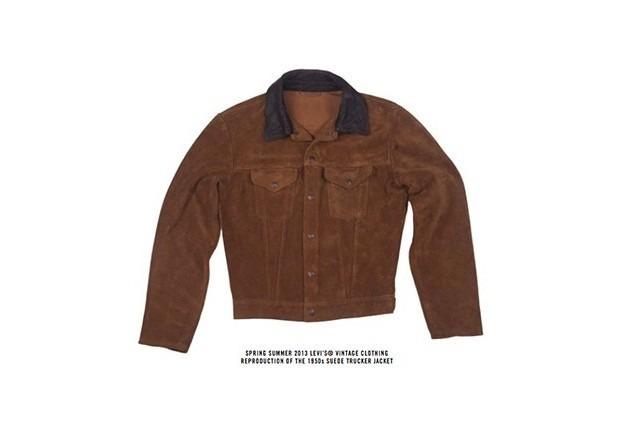 Марка Levi's Vintage Clothing опубликовала лукбук весенней коллекции одежды. Изображение № 21.