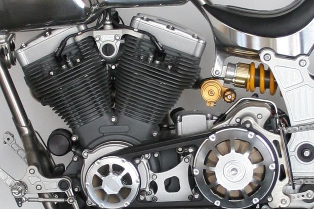 Киану Ривз основал компанию по производству кастомных мотоциклов на базе Harley-Davidson. Изображение № 9.