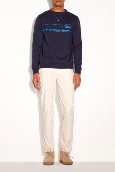 Марка A.P.C. опубликовала лукбук новой коллекции одежды. Изображение № 8.